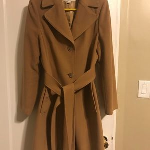 Banana Republic Wool Trench Coat